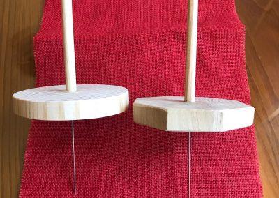 Porta bobina para almohadilla